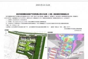 光谷南一楼盘项目规划计划批前公示总建筑面积约13.3万平方米